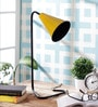 Yellow Iron Study Lamp by Grated Ginger