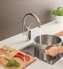 Grohe Eurostyle Silver Brass Cosmopolitan High Spout Kitchen Faucet