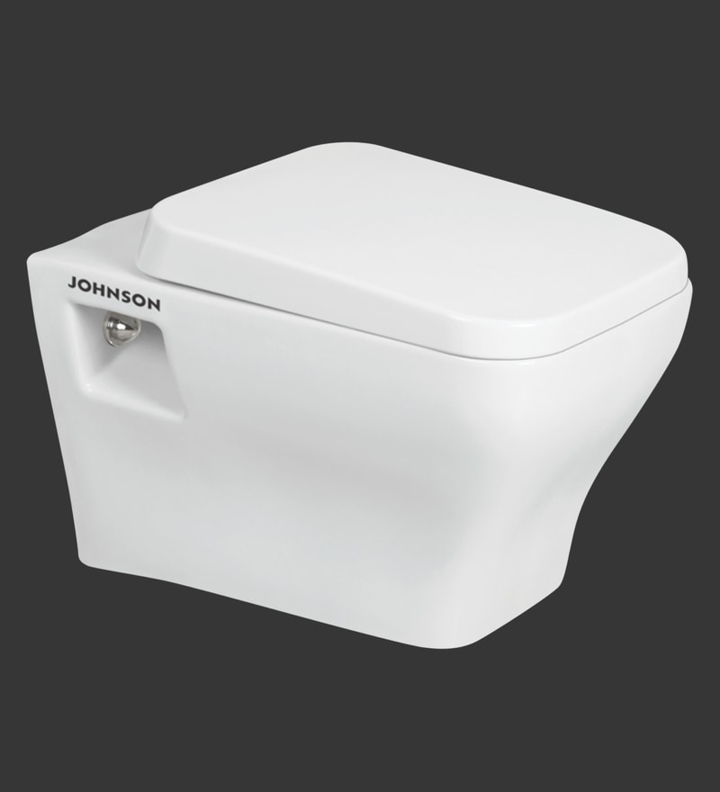H & R Johnson Elegance-Wvp White Ceramic Water Closet with Seat Cover
