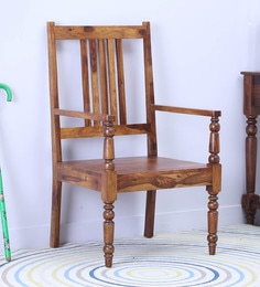 Harleston Arm Chair In Provincial Teak Finish