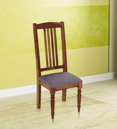 Harleston Solid Wood Dining Chair In Provincial Teak Finish