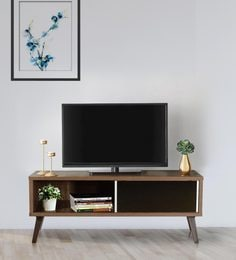 Hayate TV Unit With One Drawer In Oak Finish