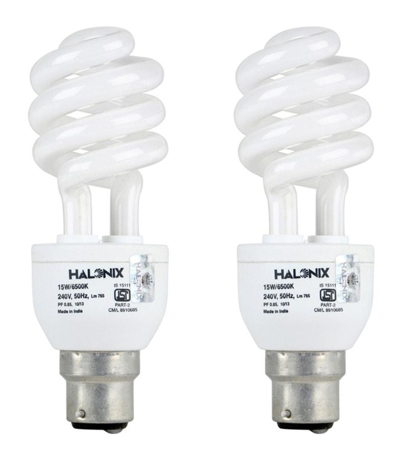 Halonix White 15 W CFL Light - Set of 4