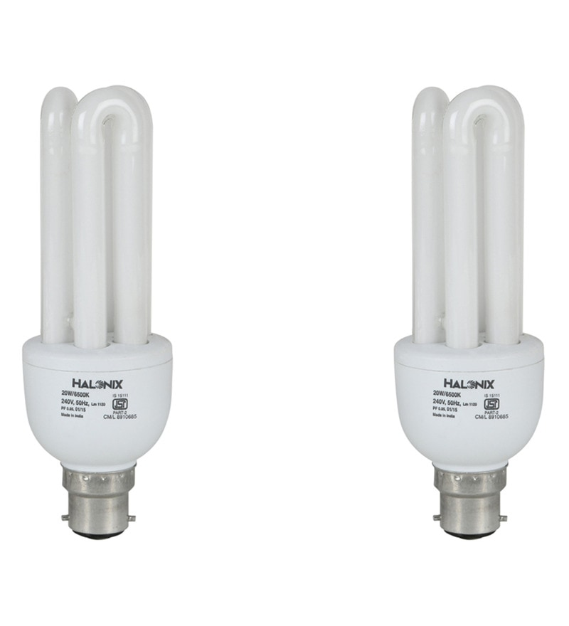 Halonix White 20 W CFL Light - Set of 4