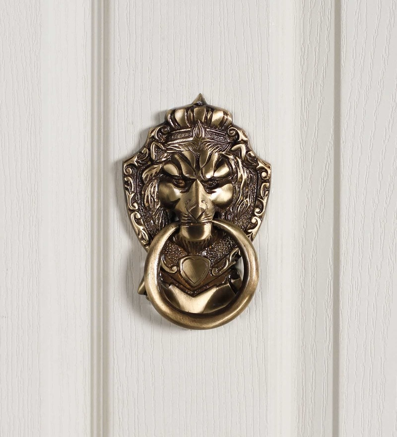 Handecor Victorian Style Lion Mouth Door Knocker