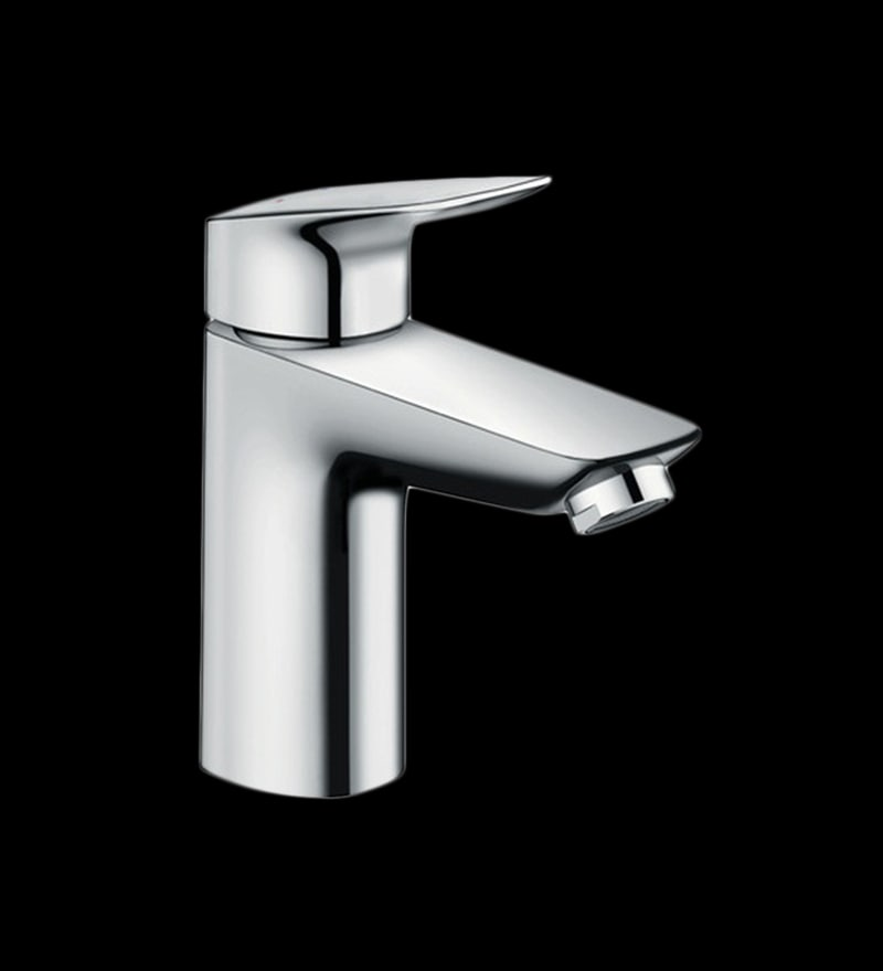 Hansgrohe Logis Chrome Brass Single Lever Basin Tap