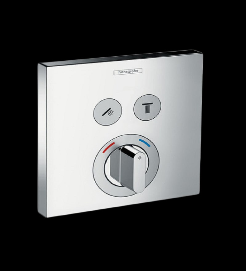 Hansgrohe Series Select Chrome Brass Mixer for Concealed Installation