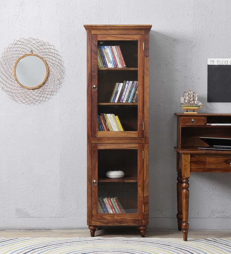 Harleston Book Case in Provincial Teak Finish by Amberville