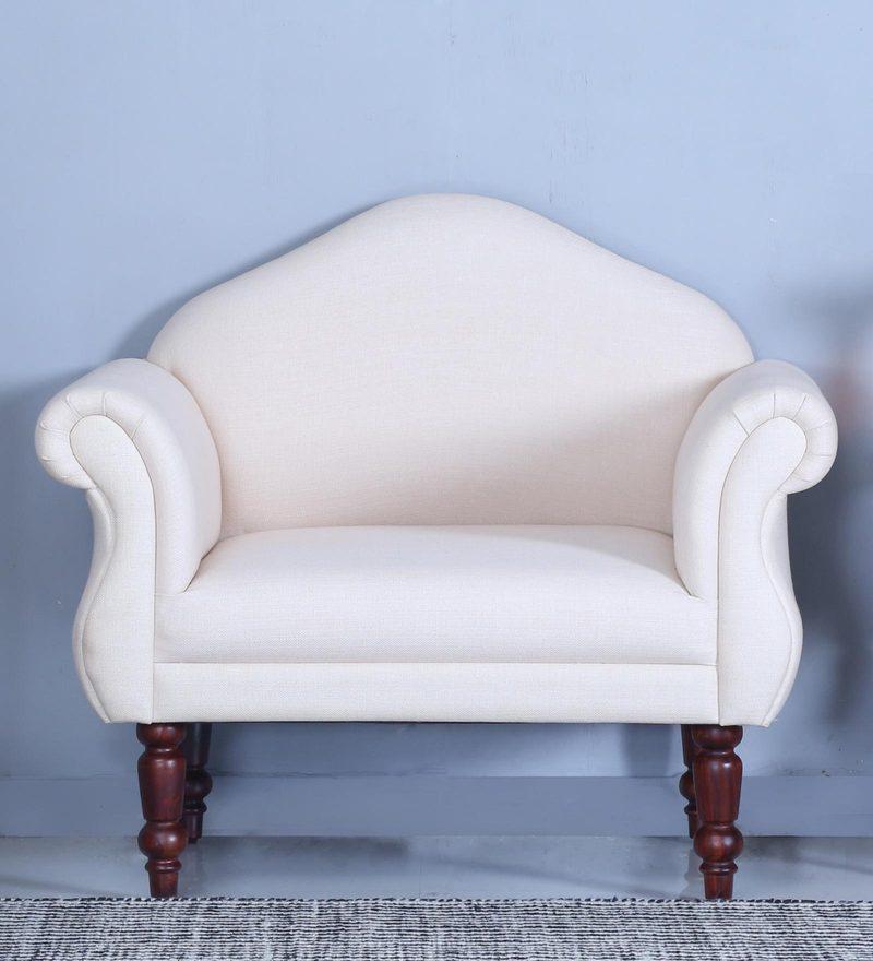 Harleston One Seater Sofa in Honey Oak Finish by Amberville