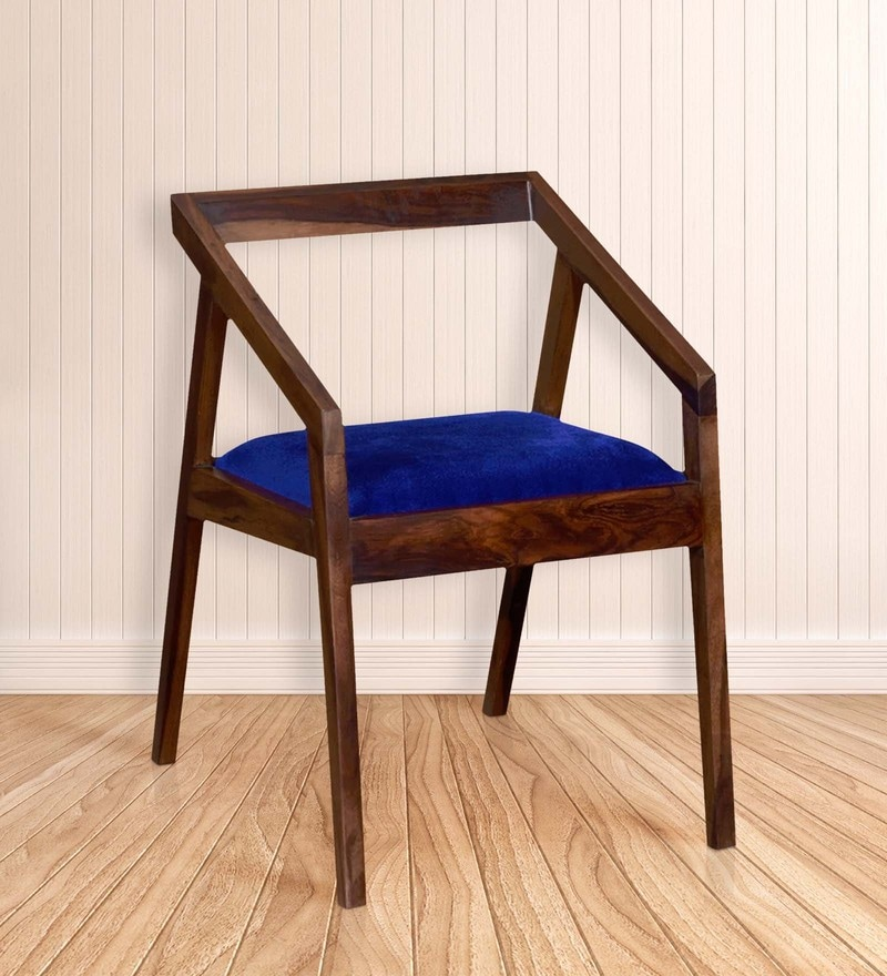 Harrington Arm Chair in Provincial Teak Finish by Woodsworth