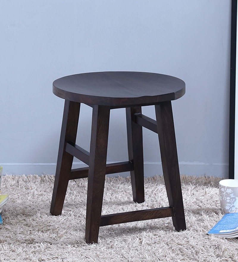 Harrington Stool in Warm Chestnut Finish by Woodsworth