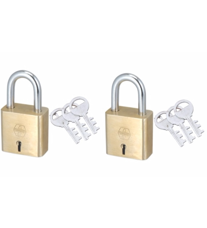 Harrison Square 7-T/34 Brass Padlock - Set of 2