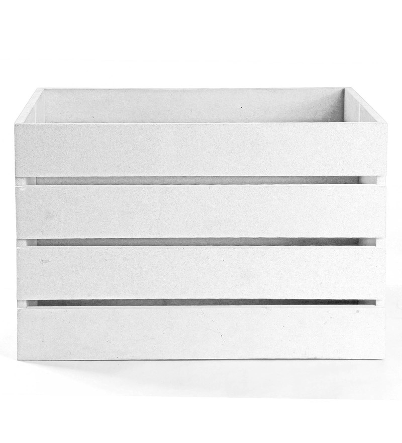Haus and Sie MDF White Crate