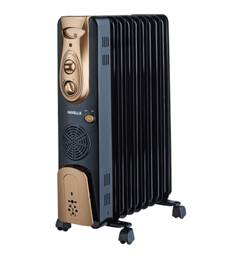 Havells 13 Fins 2900-Watt Oil Filled Room Heater with Fan