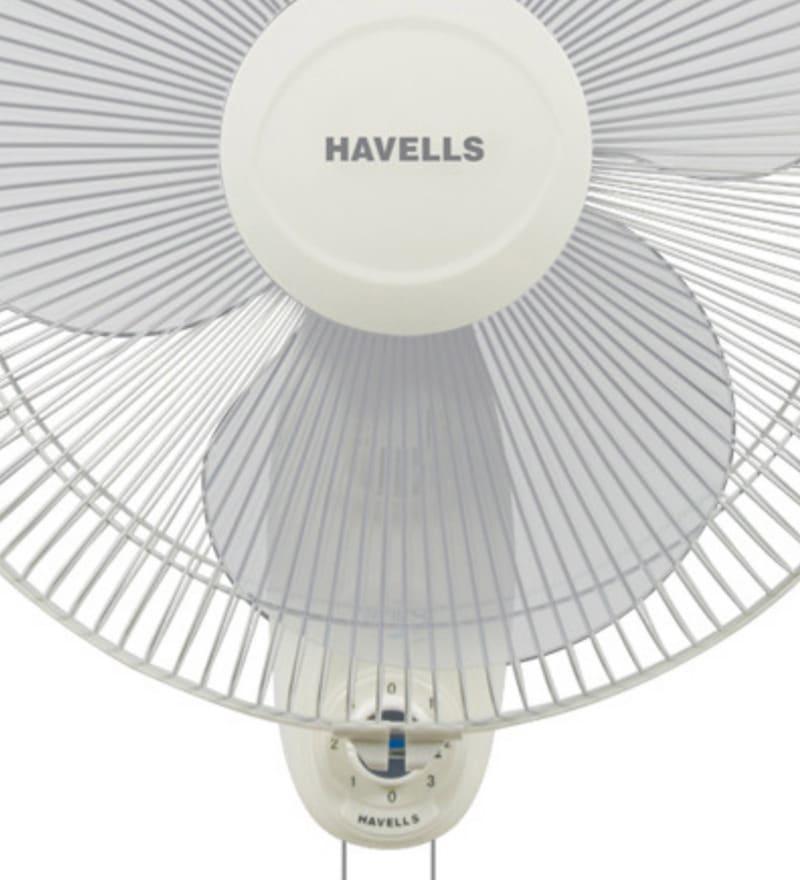 Buy Havells 400mm Swing Wall Fan Off White Online Wall