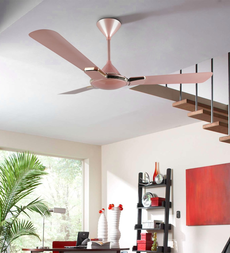 Buy Enticer 1200 Mm Rose Gold Ceiling Fan By Havells