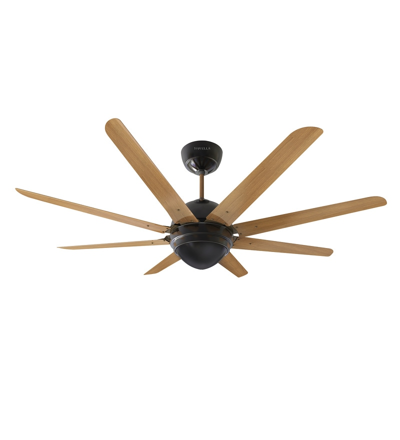 Buy Octet 1320 mm Brushed Nickel Designer Fan with Remote Control