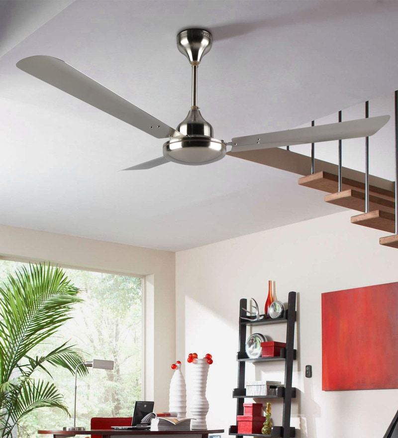 Havells Orion Brushed Nickel 1200 mm White Fan