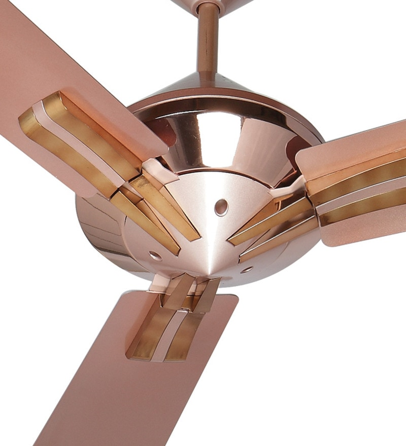 Buy Havells Sagittal 1320 Mm Blush Copper Ceiling Fan