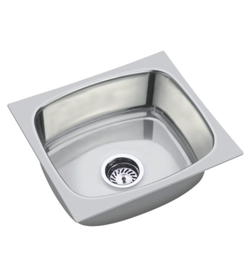Unique  Deluxe Stainless Steel Single Bowl Kitchen Sink