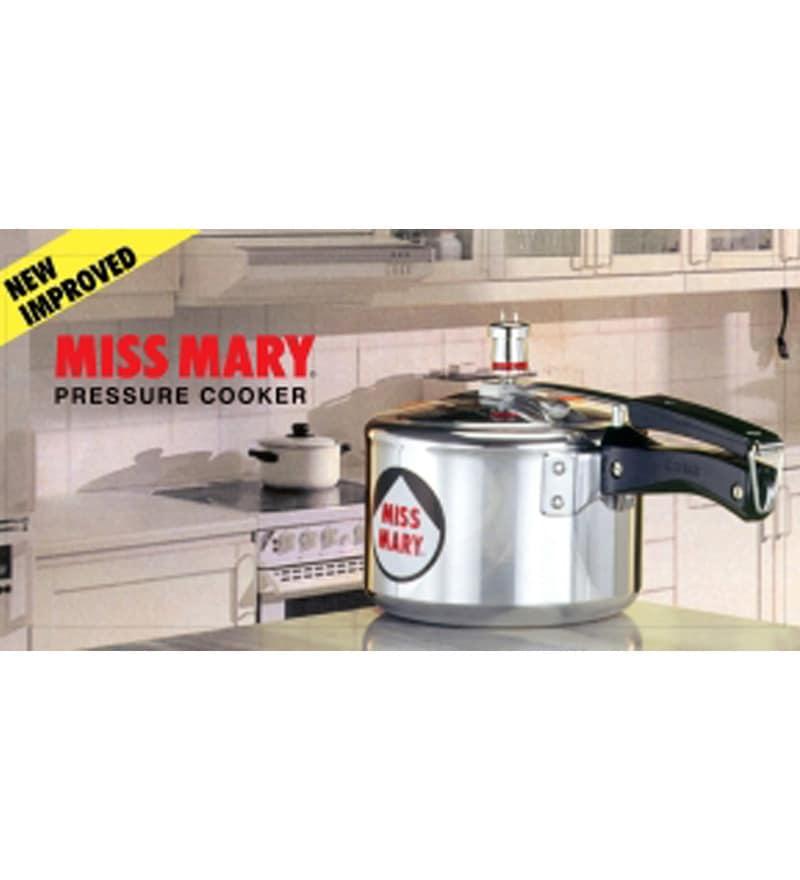 Hawkins Miss Mary Aluminium 2.5 L Pressure Cooker