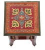 Hand Crafted Rajasthani End Table by VarEesha