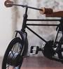 Black Metal Iran Cycle Rikshaw Showpiece by Hanumant