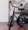 Black Metal Iran Cycle Rikshaw Showpiece by Hanumant