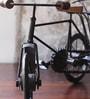 Black Metal Iran Tricycle Showpiece by Hanumant