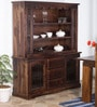 Bentinck Hutch Cabinet in Provincial Teak Finish by Amberville