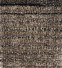 HDP Beige & Yellow Polyester 48 x 32 Inch Hand Made Tufted Shaggy Carpet
