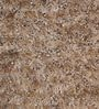 HDP Beige Polyester 47 x 67 Inch Hand Made Shaggy Carpet