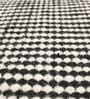 HDP Black & White Wool & Cotton 55 x 79 Inch Hand Made Kelim Carpet