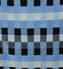 HDP Blue Wool 80 x 56 Inch Hand Woven Loom Knotted Carpet