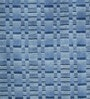 Blue Wool 80 x 56 Inch Indian Hand Tufted Carpet by HDP