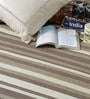 Brown Wool 80 x 56 Inch Hand Woven Flat Weave Area Rug by HDP