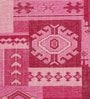 Lilac Wool 80 x 56 Inch Indian Hand Made Knotted Carpet by HDP