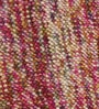 HDP Multicolour Wool 32 Inch Hand Woven Pebble Round Carpet