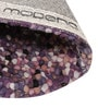 Multicolour Wool 36 Inch Hand Woven Pebble Round Carpet by HDP