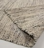Multicolour Wool 92 x 64 Inch Hand Woven Flat Weave Loom Knotted Carpet by HDP