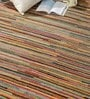 HDP Multicolour Wool 92 x 64 Inch Indian Hand Knotted Carpet