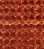 Rust Polyester 48 x 32 Inch Hand Made Tufted Shaggy Carpet by HDP