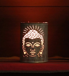 Height Of Designs Pink Metal Lord Budha Night Lamp - 1605360