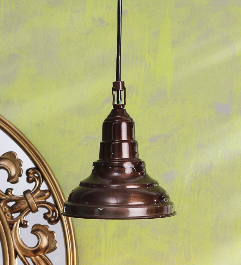 Brown 40W LED Pendant Light by Height of Designs