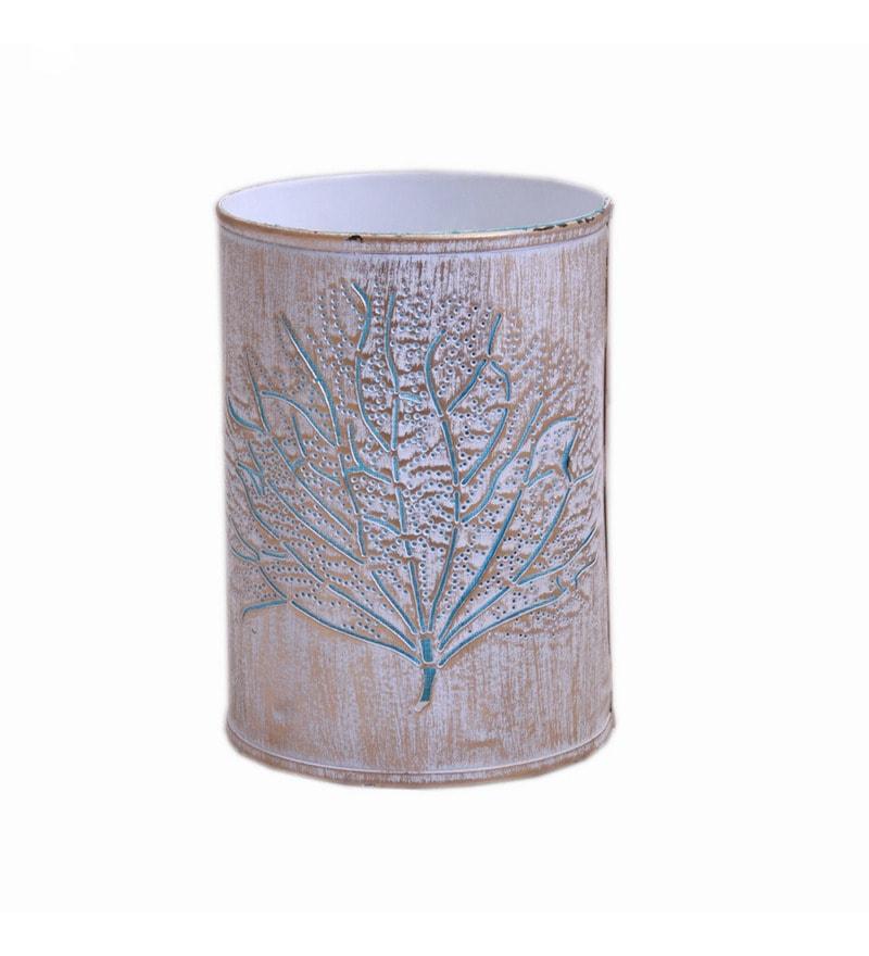Blue Metal Tree Night Lamp by Aasras