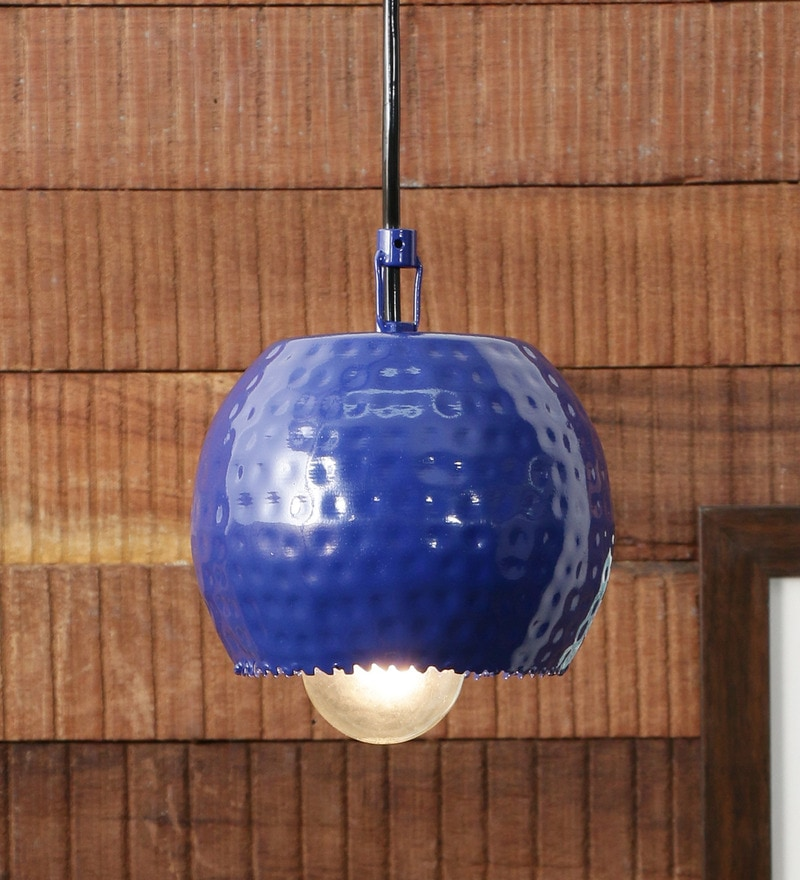 Blue Iron 40 W LED Pendant by Height of Designs