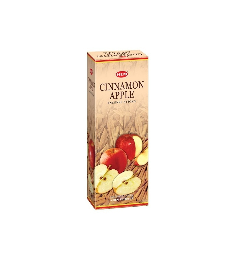 Cinnamon & Apple Incense Stick - Set of 120 by Hem