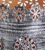 Multicolour Iron Bucket Tea Light Votive - Set of 3 by Aasra