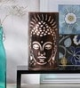 Buddha White Acrylic Table Lamp by Aasras