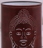 Brown Iron Budha Table Lamp by Height of Designs